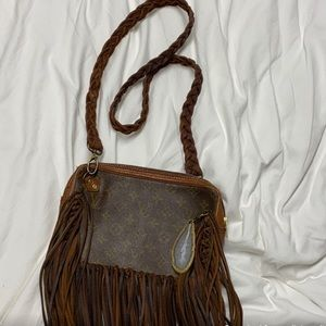 💥Louis Vuitton Vintage Boho Bag Satchel💥